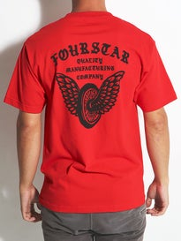 Fourstar Winged Wheel II Pocket T-Shirt