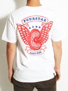 Fourstar Winged Wheel Pocket T-Shirt