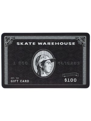 Skate Warehouse Gift Card $100