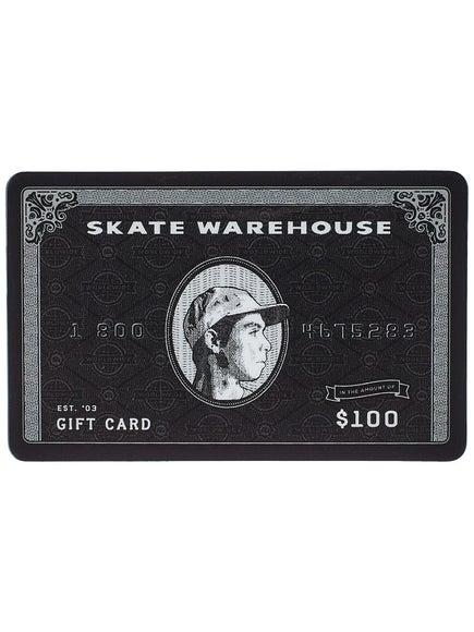 Skate Warehouse Gift Card $100