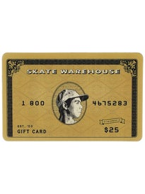 Skate Warehouse Gift Card $25
