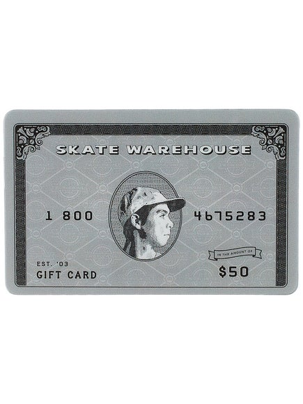 Skate Warehouse Gift Card $50