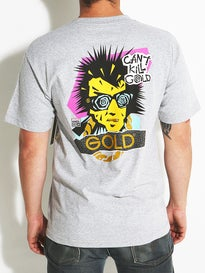 Gold Wheels Glam Goon T-Shirt