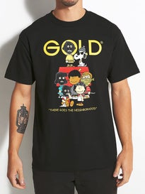 Gold Wheels Gang T-Shirt