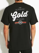 Gold Wheels Authentic T-Shirt