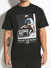 Gold Wheels The Block T-Shirt