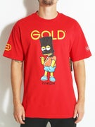 Gold Wheels Brat T-Shirt