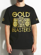 Gold Wheels Blasters T-Shirt