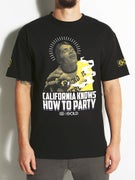 Gold Wheels Cali Party T-Shirt