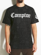 Gold Wheels Compton Treasure T-Shirt