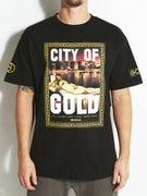 Gold Wheels City T-Shirt