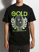 Gold Wheels Digital Die T-Shirt