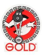 Gold Wheels Goonbuster Sticker