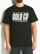 Gold Wheels Gold Streets T-Shirt
