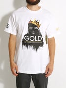 Gold Wheels King T-Shirt