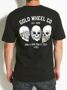 Gold Wheels Goon Code T-Shirt