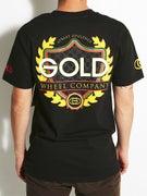 Gold Wheels Opulence T-Shirt