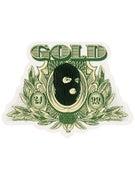 Gold Wheels Prez Sticker