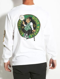 Gold Wheels Spinners L/S T-Shirt