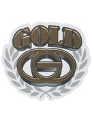 Gold Wheels Standard Sticker