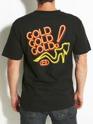 Gold Wheels Stay Lit T-Shirt