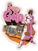 Gold Wheels Super Fly Sticker