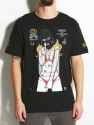 Gold Wheels Target T-Shirt