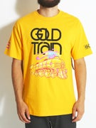 Gold Wheels Train T-Shirt