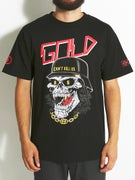 Gold Wheels Undead T-Shirt