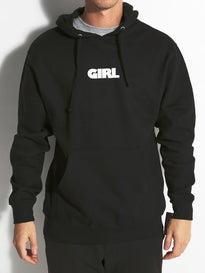 Girl Advertype Hoodie