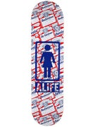 Girl x Alife Budweiser Deck  8.125 x 31.3