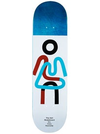 Girl Kennedy Twisted OG Deck  8.25 x 31.625