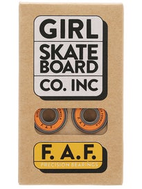 Girl F.A.F. Precision Bearings