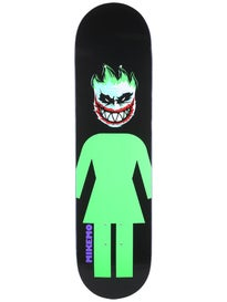 Girl Capaldi Joker Black/Green Deck  8.0 x 31.5
