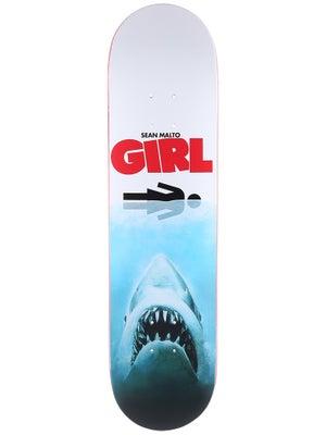 Girl Malto Shark Attack Deck  8.0 x 31.87