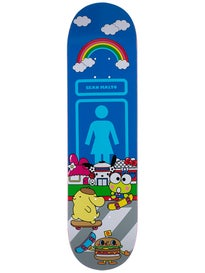 Girl Malto Sanrio World Deck  8.125 x 31.625