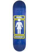 Girl Kennedy OG Blue Deck  8.0 x 32