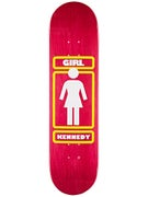 Girl Kennedy OG Pink Deck  8.0 x 32