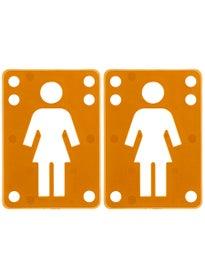Girl Riser Pads 1/8\ range