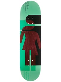 Girl McCrank Hardcourt Deck  8.375 x 31.75