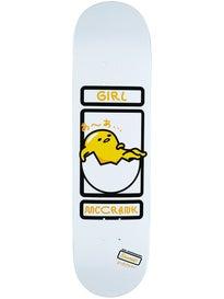 Girl McCrank Sanrio Gudetama Deck  8.25 x 31.625