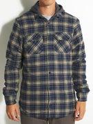 Globe Alfaord Hooded Flannel Shirt