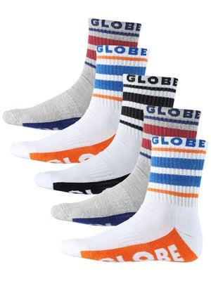 Globe Bueller Crew Socks 5 Pk. Multi