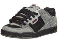 Globe Fusion Shoes Grey/Black/Red
