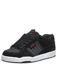 Globe Fusion Shoes Black/Night/Red