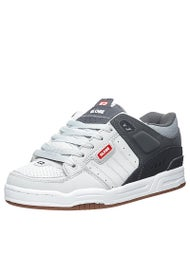 Globe Fusion Shoes Grey/Charcoal/Red