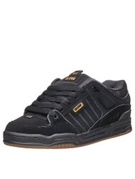 Globe Fusion Shoes Black/Black/Brown