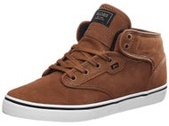 Globe Motley Mid Shoes Toffee/White