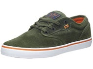 Globe Motley Shoes Olive/Rust