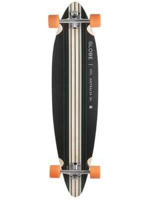 Globe Pinner Black/Sea Orange Complete  9.75 x 41.25
